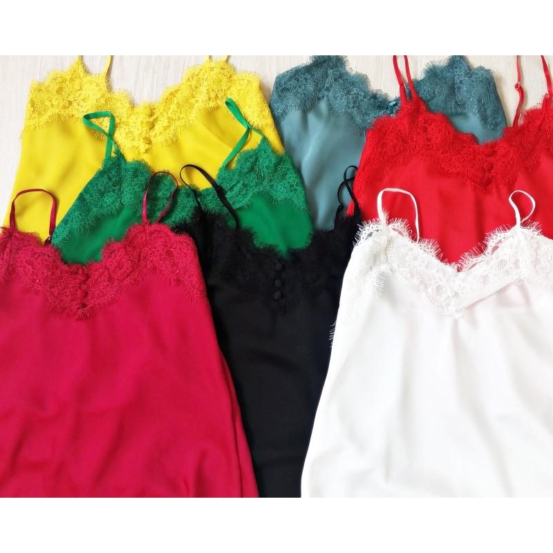 Top lencero colores