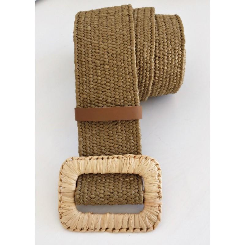 Cinturón elástico rectangular